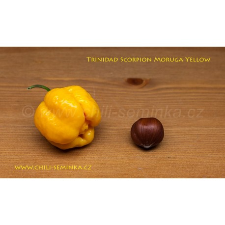 Trinidad Scorpion Moruga Yellow - semena